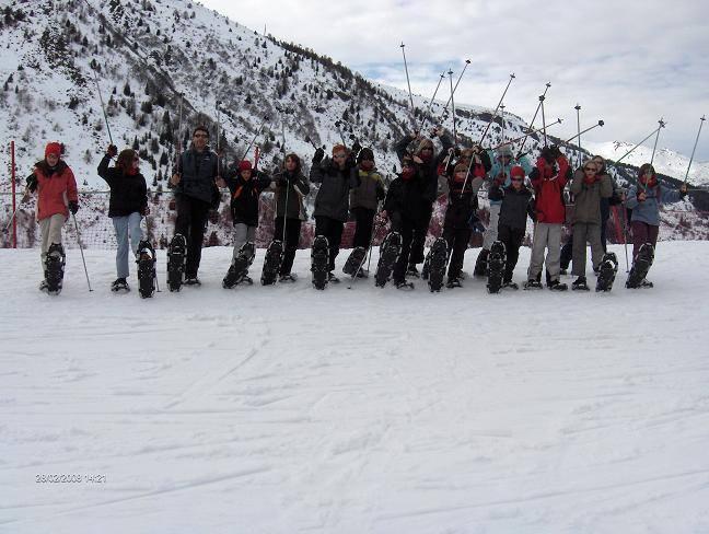 Valmeunier 2007-2008 - Sneeuwwandeling