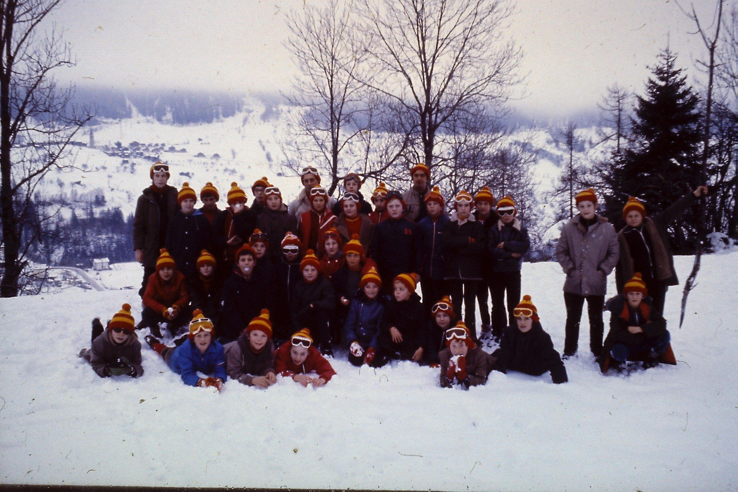 Fiesch jongensklas 1973-1974
