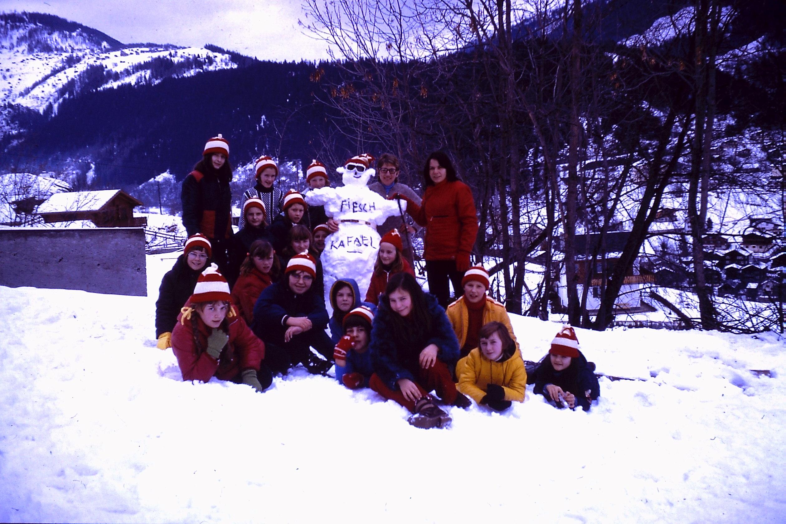 Fiesch meisjesklas 1973-1974